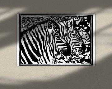 Zebra im Etosha-Nationalpark von paul snijders