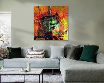 Lady behind colors von PictureWork - Digital artist