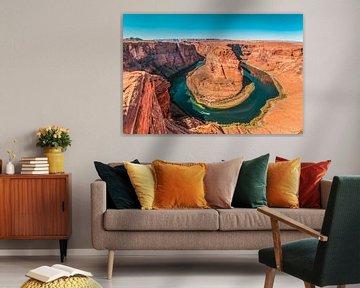 Coude en fer à cheval du Grand Canyon sur Bas Fransen
