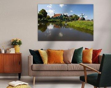 Un paysage typiquement hollandais