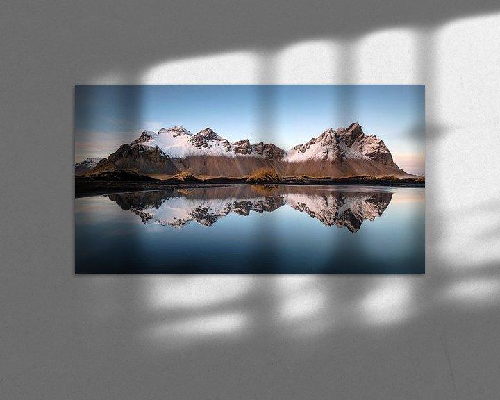 Sfeerimpressie: Winterse reflectie van Rudy De Maeyer