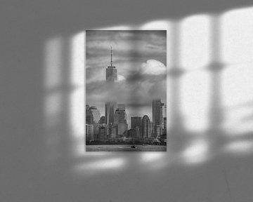 New York Skyline van Astrid Roozenburg