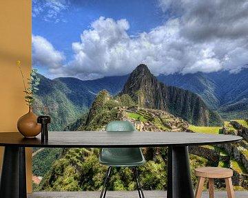 Machu Picchu, Peru van x imageditor