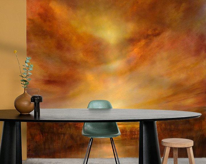 Beispiel fototapete: Evening glow von Annette Schmucker