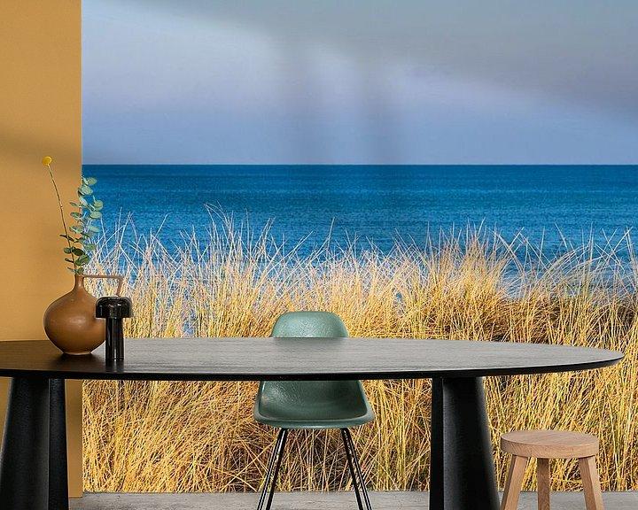 Beispiel fototapete: Strand an der Ostseeküste bei Graal Müritz von Rico Ködder