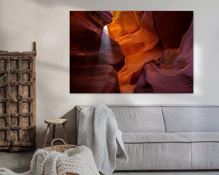 Beispiel: Lower Antelope Canyon von Richard van der Woude