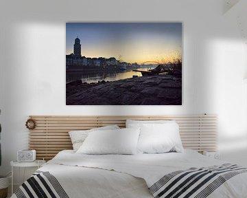 Deventer vroeg in de morgen. van Vincent van Wijk