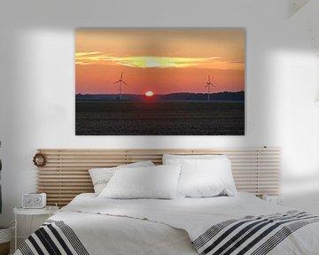 Sonnenuntergang Rügen von Martina Dormann