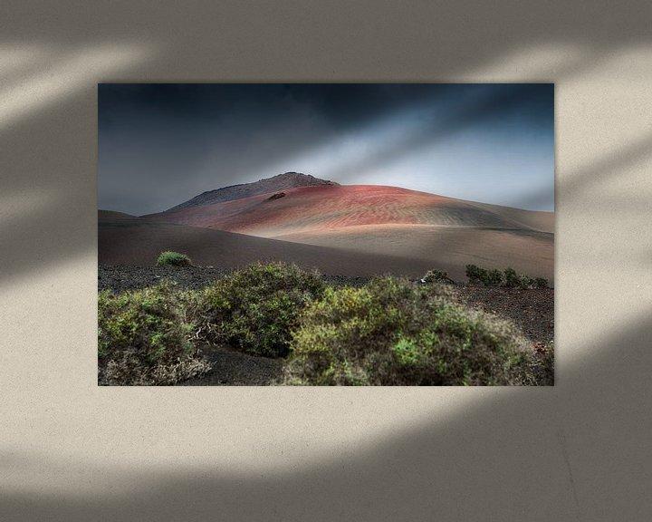 Sfeerimpressie: Desolaat vulkaanlandschap van Mark Bolijn
