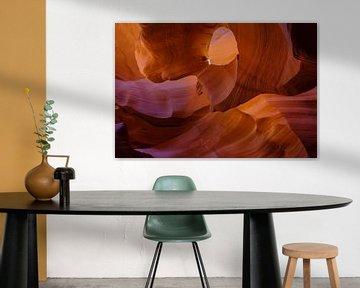 Lower Antelope Canyon van Richard van der Woude