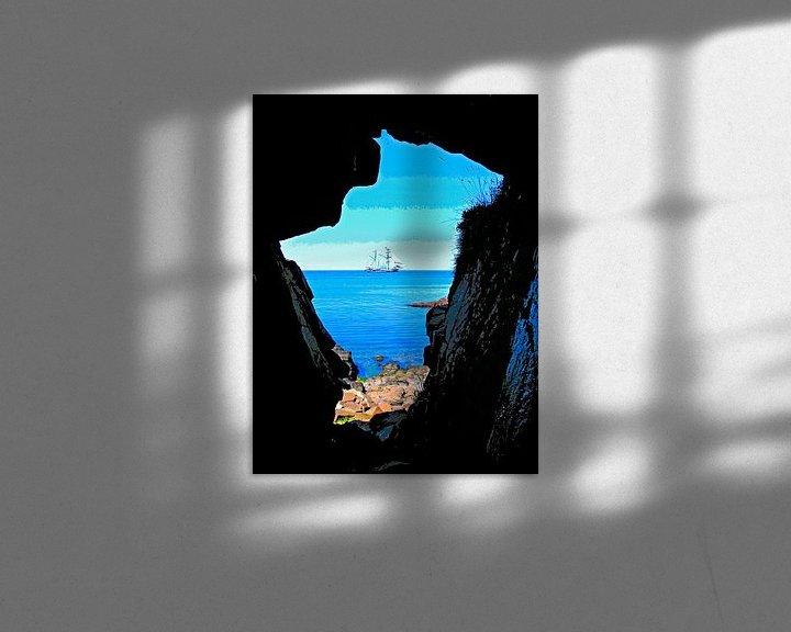 Beispiel: Höhle und Schiff von Leopold Brix