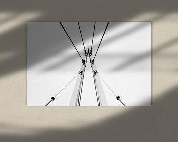 Abstracte Brugsteun von Danny van den Berg