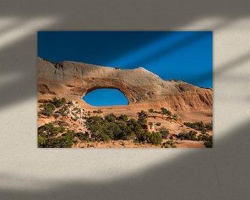 Wilson's Arch, Moab von Richard van der Woude