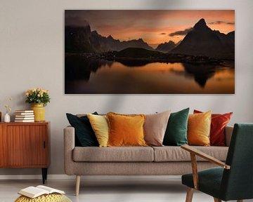 Andoya panorama van Wojciech Kruczynski