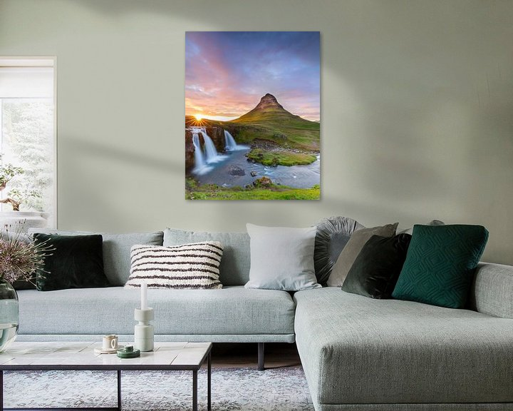 Beispiel: Kirkjufellsfoss von Menno Schaefer