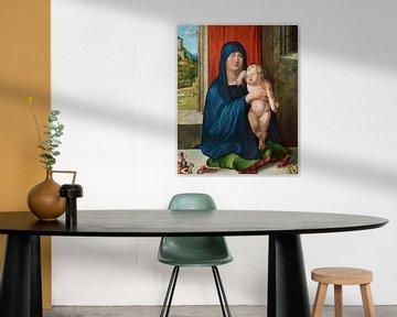 Albrecht Dürer. Madonna en kind