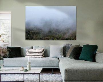 Mist trekt over de bergen von Marcel Derweduwen