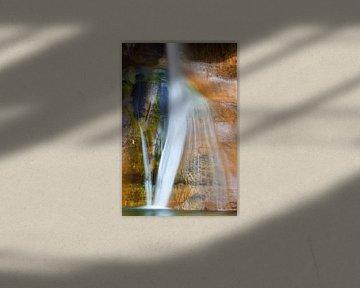 Lower Calf Creek Falls, Utah van Henk Meijer Photography