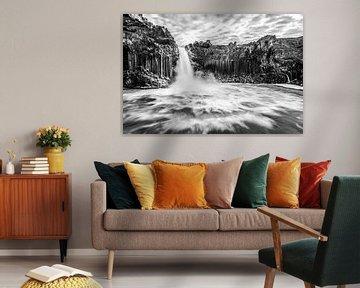 Aldeyjarfoss, der Basaltwasserfall von Nordisland von Gerry van Roosmalen