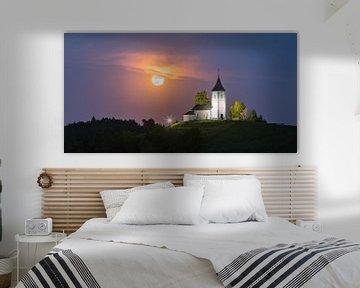 Église de Jamnik, Slovénie sur Henk Meijer Photography