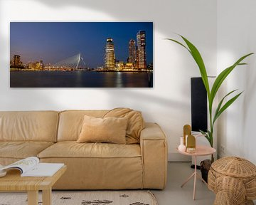 Panorama Rotterdam van Hans Brasz