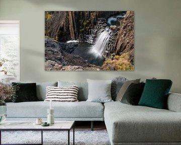 Eine andere Ansicht des Litlanesfoss von Gerry van Roosmalen