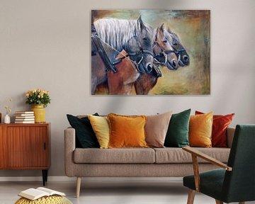 zeeuwse paardenkracht.. ( de 3 musketiers) von Els Fonteine