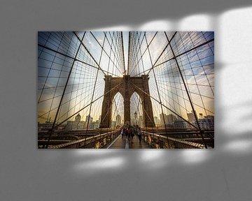 The Brooklyn Bridge von Michel van Rossum