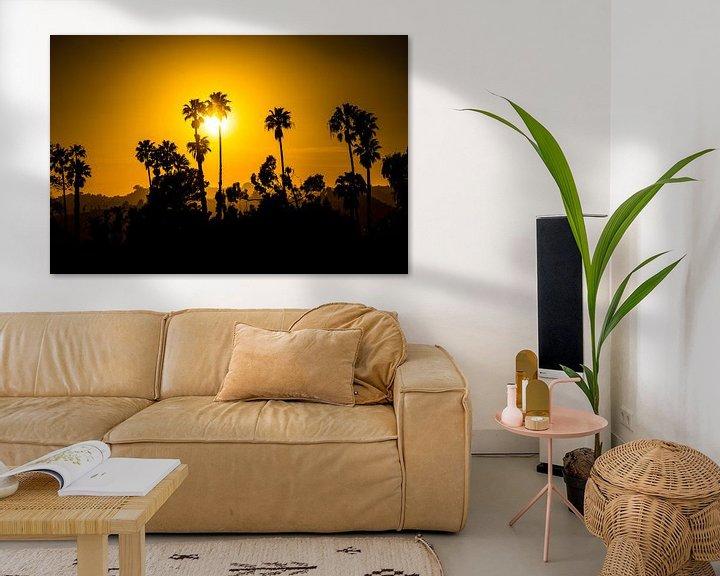 Beispiel: Beverly Hills Palmbomen von Michel van Rossum