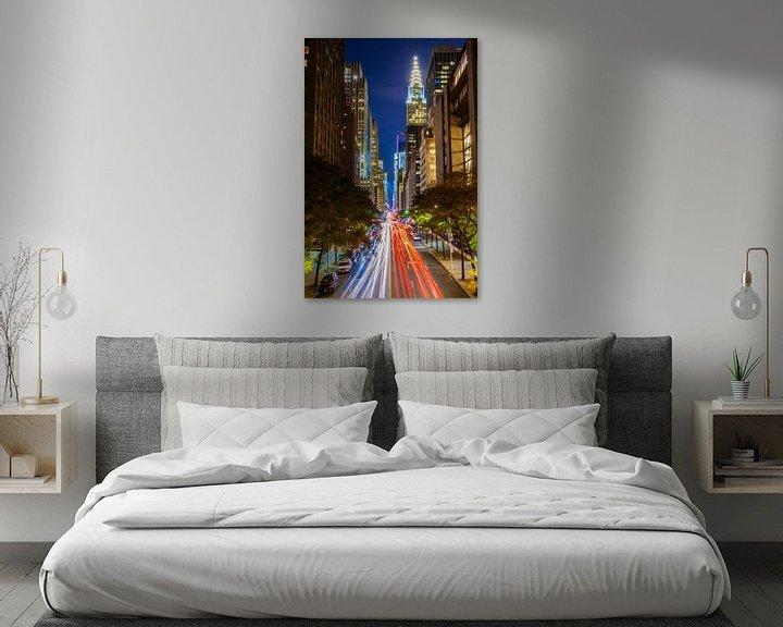 Beispiel: Chrysler gebouw long exposure von Michel van Rossum