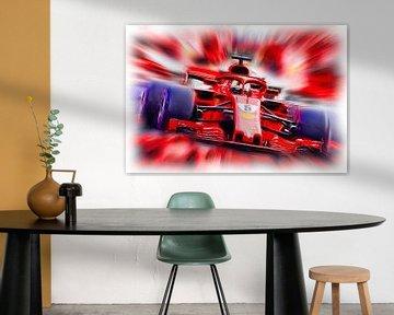 Vettel from Heppenheim (Version 2) von Jean-Louis Glineur alias DeVerviers