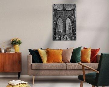 Brooklyn Bridge, New York von Tim Groeneveld