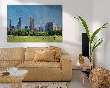 View from Central Park, New York von Tim Groeneveld