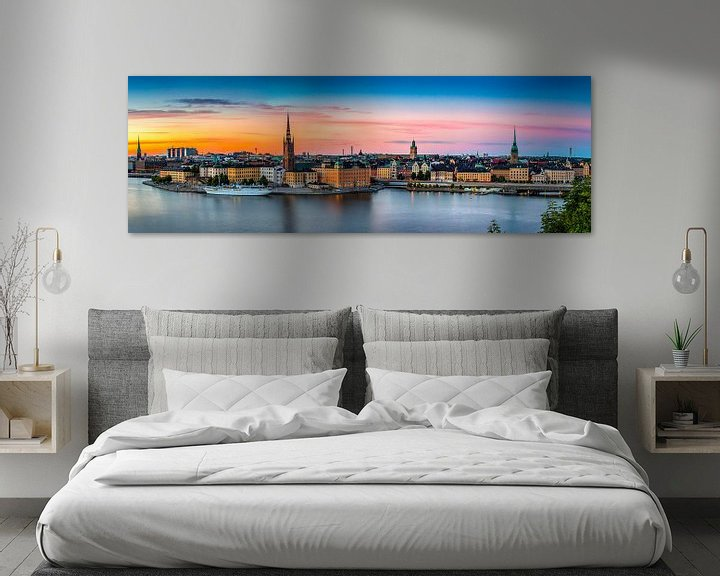 Sfeerimpressie: Stockholm Panorama van Adelheid Smitt