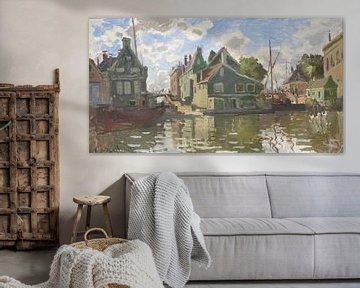 Kanal bei Zaandam, Claude Monet