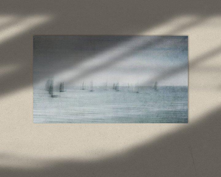 Impression: Mysterious fleet sur Greetje van Son
