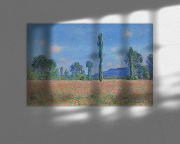 Mohnfeld, Claude Monet