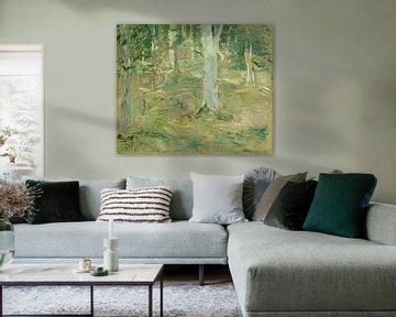 Wald von Compiègne, Berthe Morisot