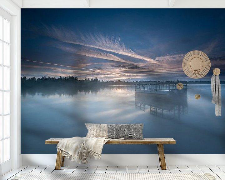 Sfeerimpressie behang: Reindersmeer I van Monique Pouwels
