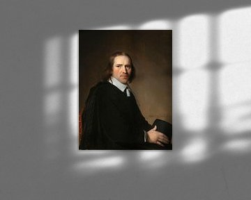 Porträt von Dirck Johannes oder Jacobus Wallis, Jan Verspronck