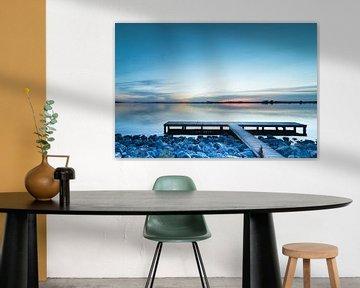 Sonnenuntergang Schildmeer von P Kuipers