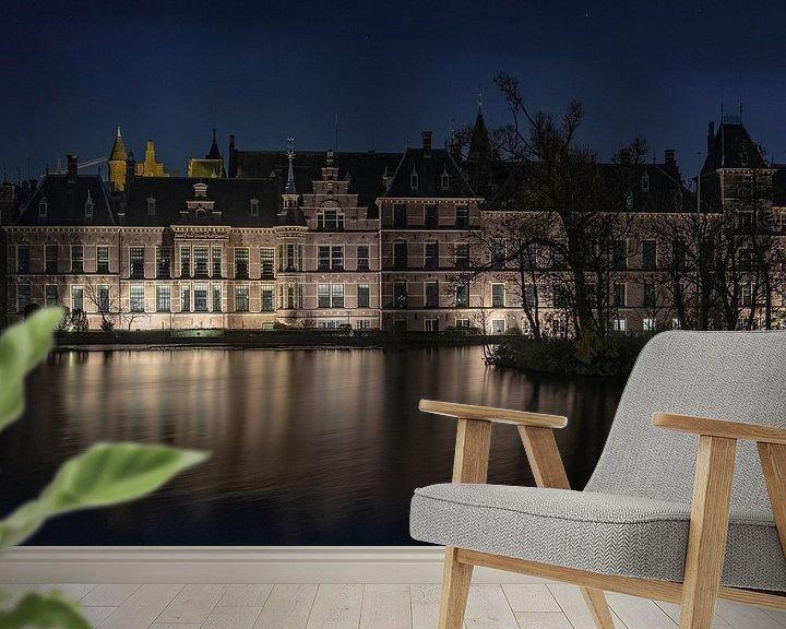 Beispiel fototapete: The Hague by night von Annemieke Klijn