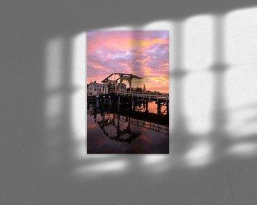 Zonsondergang Rembrandtbrug