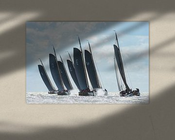 Skûtsjes (Close Racing) von Harry Eggens