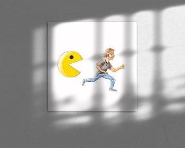 Pacman is gonna get you! van Gert de Goede
