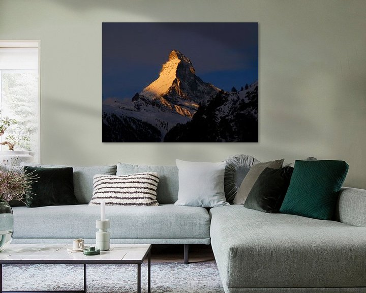 Sfeerimpressie: Gouden Matterhorn van Menno Boermans