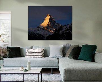 Goldenes Matterhorn