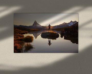 tbdAvondstemming bij de Matterhorn van Menno Boermans