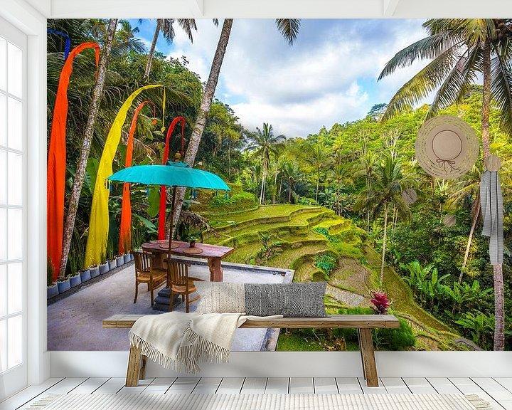 Sfeerimpressie behang: Bali van Michel van Rossum