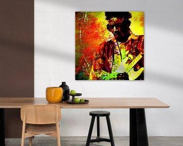 Jimi Hendrix von PictureWork - Digital artist